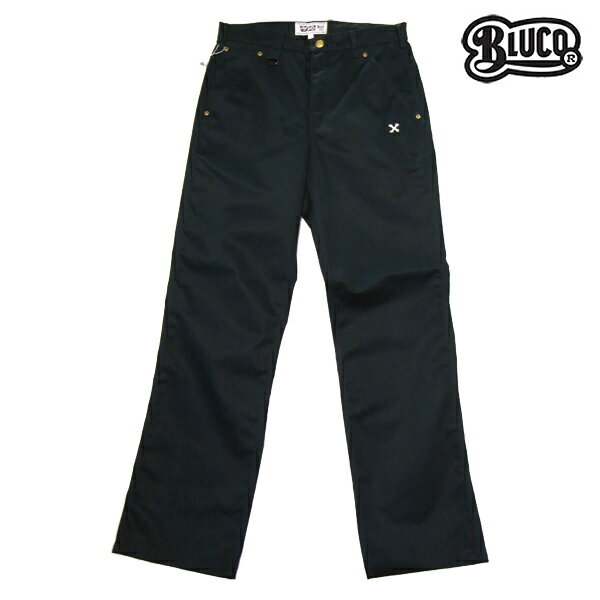 【BLUCO WORK GARMET】WORK PANTS 5pocket OL-003カラー:navy 【ブルコ】【スケートボード】【パンツ/チノ】