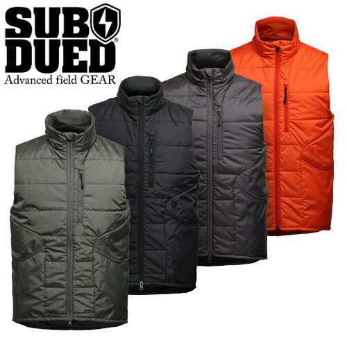 【SUBDUED】SCOUT VEST カラー:foliage green/ black / charcoal / orange 【サブデュード】【スケートボード】【ベスト】