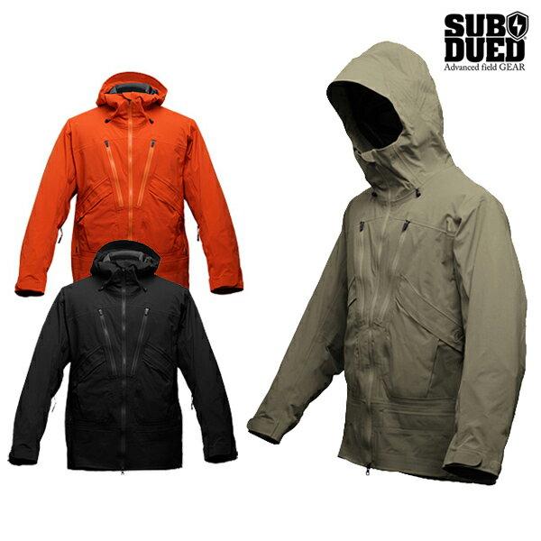 【SUBDUED】MAVERICK jacketカラー:black / khaki / persimmon 【サブデュード】【スケートボード】【ジャケット】