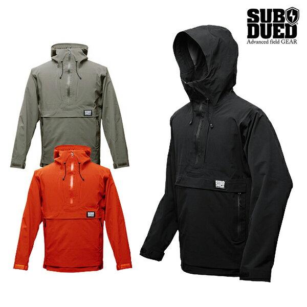 【SUBDUED】DARKROOM anorakカラー:black / khaki / persimmon 【サブデュード】【スケートボード】【ジャケット】