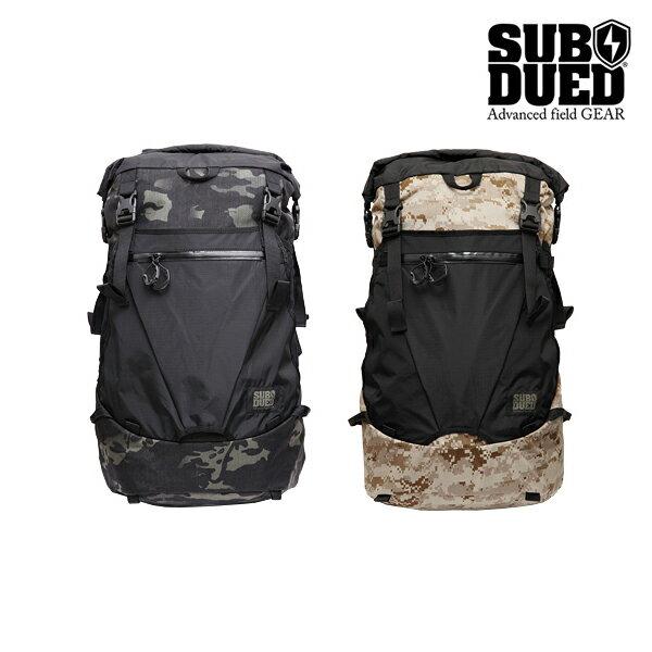 【SUBDUED】UDT backpack カラー:MULTICAM BLACK/AOR-1【サブデュード】【スケートボード】【バックパック】