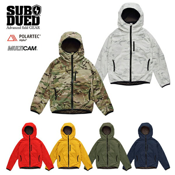 【SUBDUED】CRADLE HOODIE カラー:red / abyss / olive / mustard / multicam / multicam alpine 【サブデュード】【スケートボード】【ジャケット/子供用】