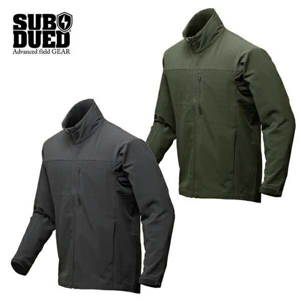 【SUBDUED】NOTOS JACKET カラー:charcoal / olive 【サブデュード】【スケートボード】【ジャケット】