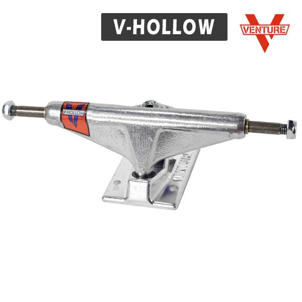 【VENTURE】V-HOLLOW サイズ:5.0/5.2/5.6 ベンチャー ホロー シルバー トラック TRUCK スケートボード スケボー SKATEBOARD