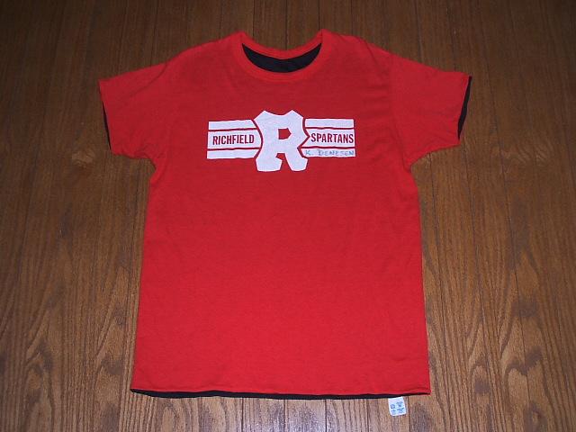 Champion(チャンピオン) 1980年代トリコロールタグ 古着リバーシブルTシャツ 実物ビンテージ