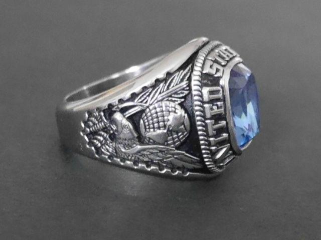 Vintage Military Rings