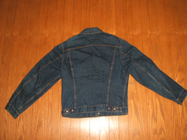 LEVIS( Levis) 71205 (70505 LONG) denim jacket Big-E( big E) 1960s real thing vintages)