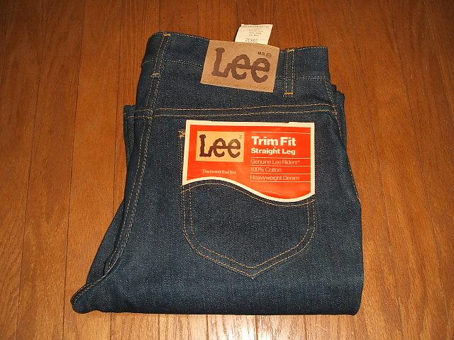 W29×L33 Cut(ブーツカット) USA(アメリカ製) 1970年代 201-2541 MADE 実物ビンテージ Lee(リー) IN Boots デッドストック