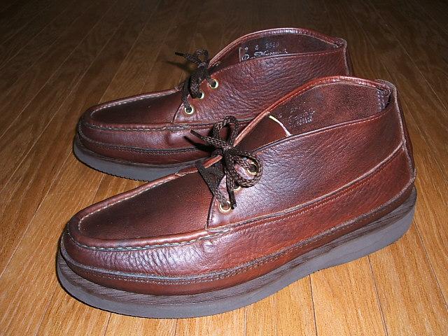 RUSSELL Tuff IN Weather Chukka(スポーティングクレーチャッカ) Leather(ウェザータフレザー) MOCCASIN(ラッセルモカシン) Sporting Clays MADE USA(アメリカ製)
