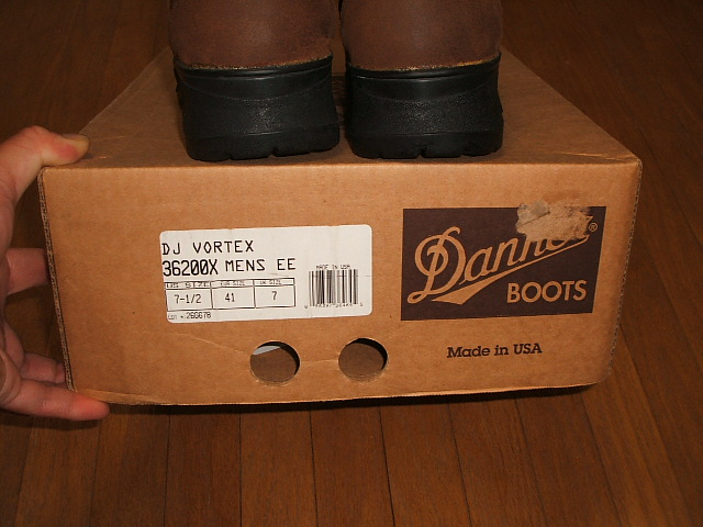 (Danner) DANNER VORTEX 36,200 X MADE IN USA (made in USA) out of print models 1990's real dead stock