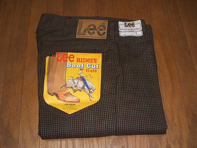 ブーツカット Lee-PREST(リープレスト) デッドストック 1970年代 Lot Lee(リー) 200-1229 USA(アメリカ製) MADE 実物ビンテージ L38 W30× IN