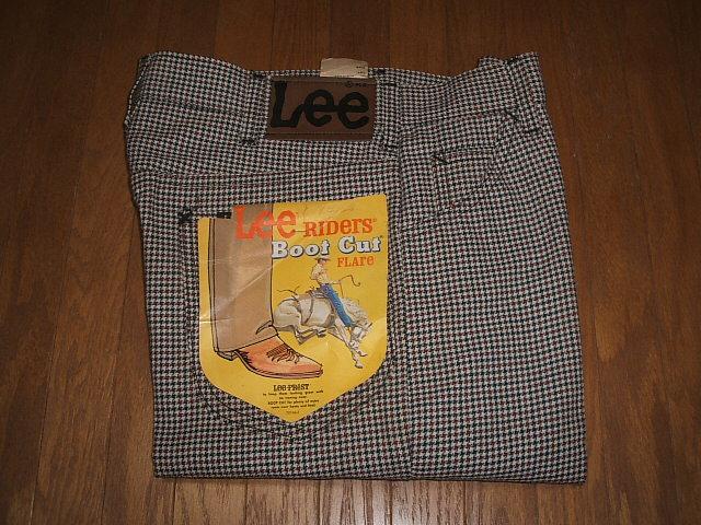Lee(リー) Lee-PREST(リープレスト) Lot 200-1201 ブーツカット 1970年代 実物ビンテージ デッドストック MADE IN USA(アメリカ製) W31× L34