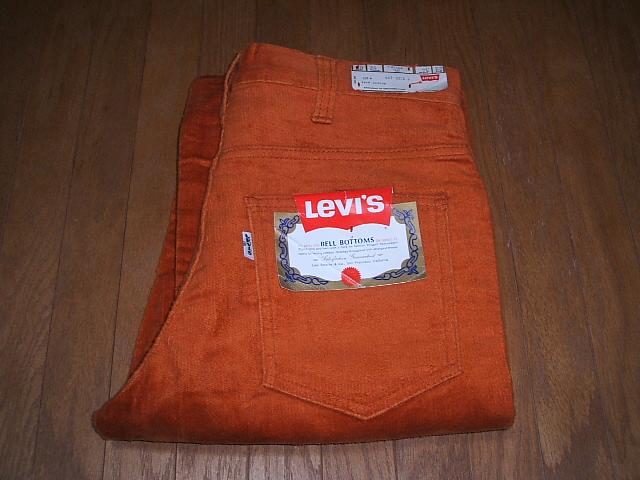 607-2073 LEVIS(リーバイス) Cut(ブーツカット) デッドストック 実物ビンテージ Lot Big-E(ビッグE) 607 W28×L34 Boot 1970年代前期