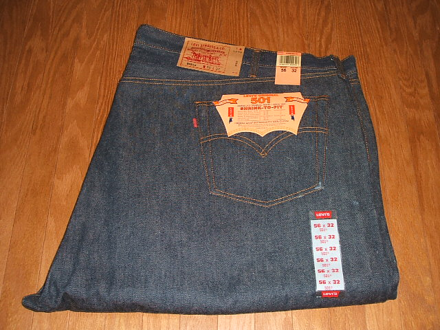 LEVIS(リーバイス) 501 1990年代 MADE IN USA(アメリカ製) 実物デッドストック ビッグサイズ W56×L32
