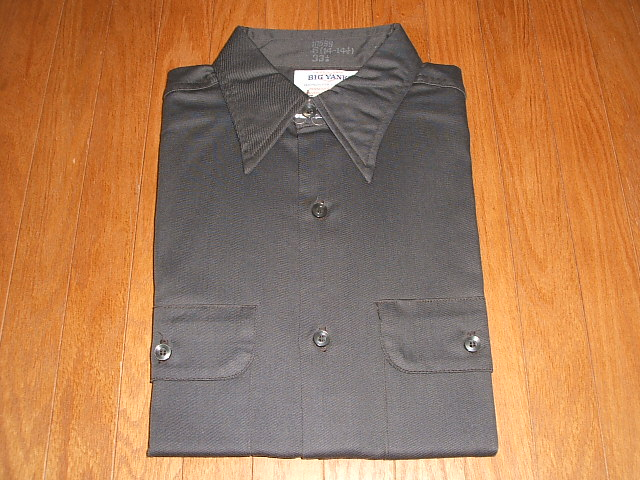 10599 YANK(ビッグヤンク) MADE 実物ビンテージ Lot USA(アメリカ製) 1960年代 実物デッドストック 長袖ワークシャツ IN BIG