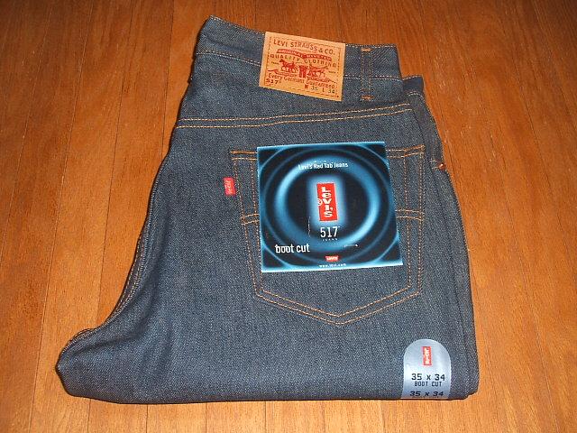 LEVIS(リーバイス) 517 ブーツカット Lot 517-0217 1990年代 MADE IN USA(アメリカ製) 実物デッドストック W35×L34