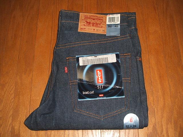 LEVIS(リーバイス) 517 ブーツカット Lot 517-0217 1990年代 MADE IN USA(アメリカ製) 実物デッドストック W32×L36