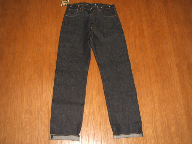 LEVIS (Levi's) s702XX (501 xx 701xx) 1920s model MADE IN JAPAN (made in Japan) 1998-Reprint Edition W36×L36 unused dead stock