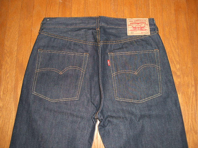 1947 (Levis) LEVIS 501 XX model Reprint Edition top button back 4420 MADE IN USA (made in USA) W34×L36 dead stock.
