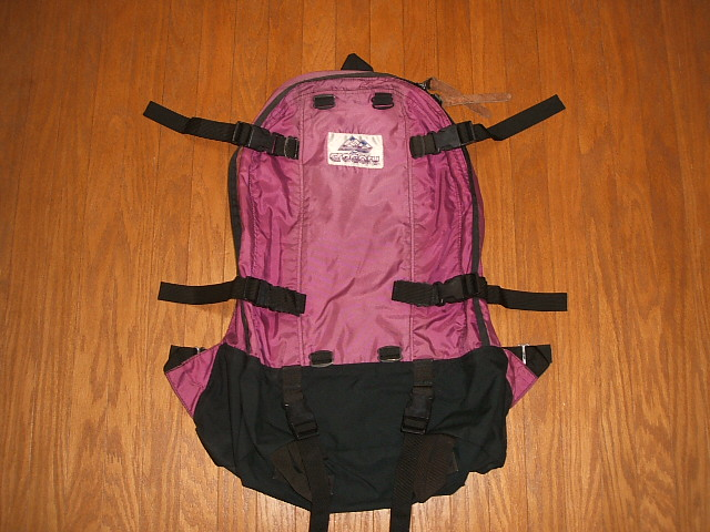 GREGORY(グレゴリー) 紫タグ(旧タグ) 1990年代 Day&Half Pack(デイ&ハーフパック) Fuchsia(フューシャー) 【中古】