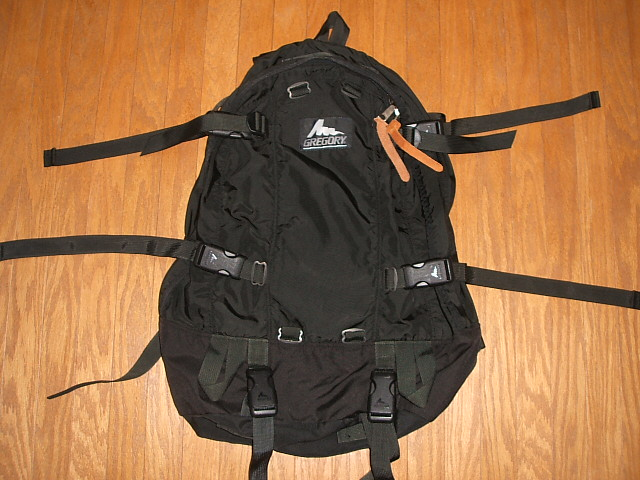 GREGORY(葛利高理)Day&Half Pack(日&一半包)Black(黑色)MADE IN USA(美国制造)
