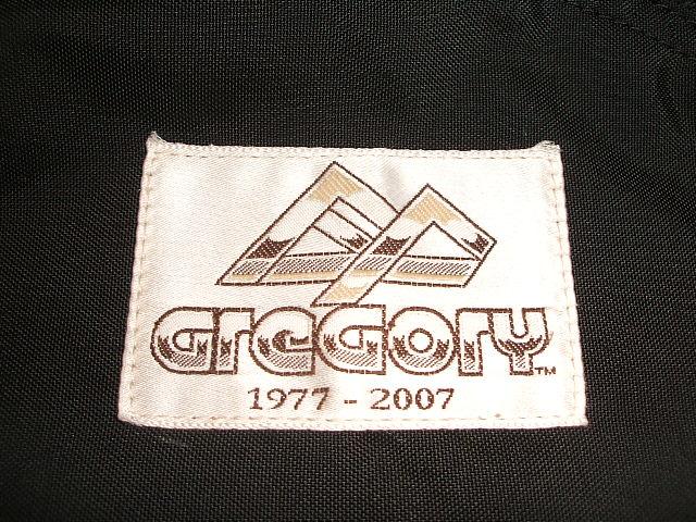 格雷戈里 (Gregory) 30 (30 周年纪念活动模型) 旧标识布朗标记背包 (背包) 黑 (黑色)