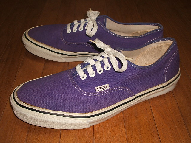 ce7e89dbeadca7 It is made in the VANS( vans) Authentic( authentic) Purple( purple) MADE IN  USA (product made in U.S.A.) 1980s