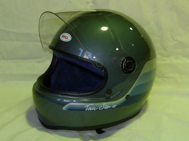 Bell(ベル) フルフェイスヘルメット Tour Star II(ツアースター2) 1985年製 実物ビンテージ 箱付き未使用デッドストック【】