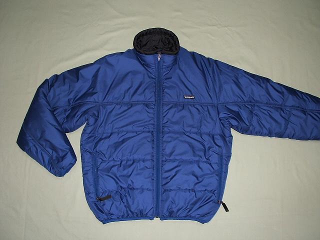 1998年 patagonia(パタゴニア) Jacket(ファイヤーボールジャケット) Cobalt(コバルト) Fireball XSサイズ【中古】