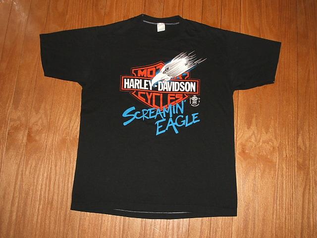 HARLEYDAVIDSON 1980年代ビンテージ古着Tシャツ