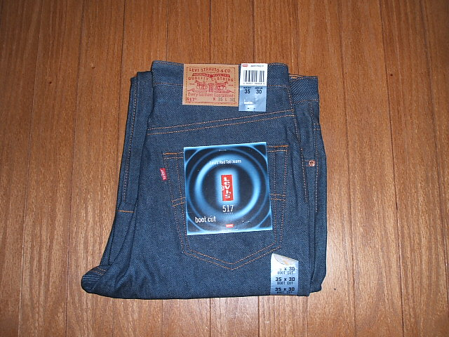 LEVIS(リーバイス) 517 ブーツカット Lot 517-0217 1990年代 MADE IN USA(アメリカ製) 実物デッドストック W35×L30
