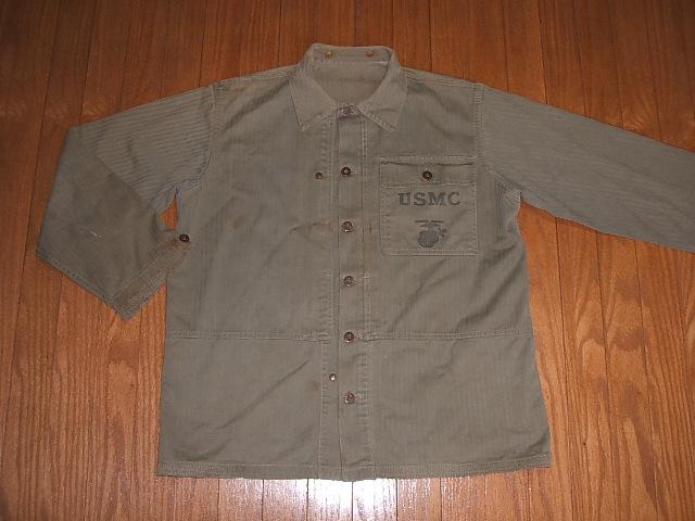 USMC 実物ビンテージ ヘリンボーンカバーオール
