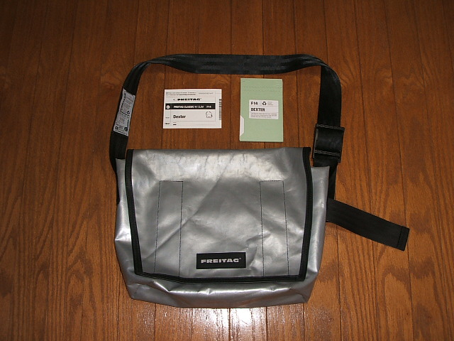488d03cf1d48 INSTINCT  FREITAG Messenger bag DEXTER F14