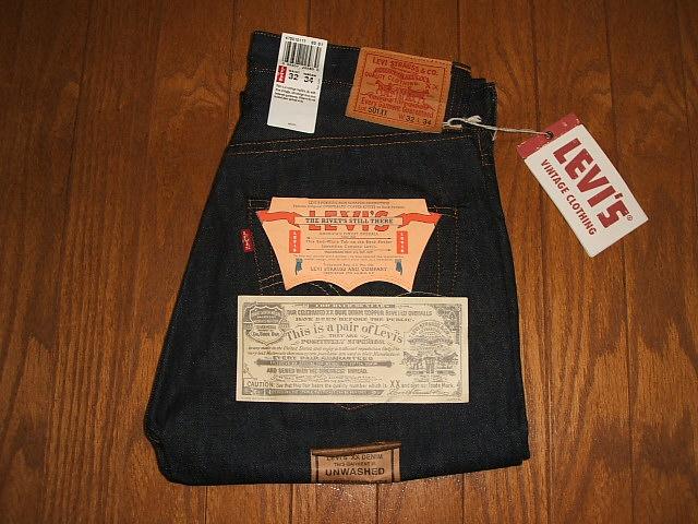 LEVIS(リーバイス) 501XX 1947年モデル復刻版 MADE IN USA(アメリカ製) デッドストック W32×L34