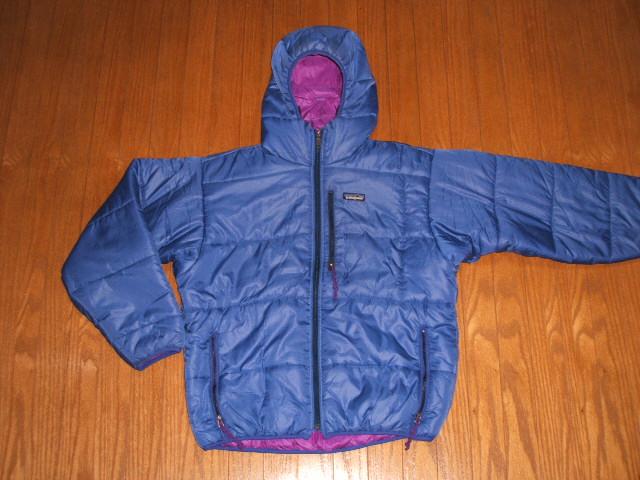 patagonia(パタゴニア) DAS Parka(DASパーカ) Cobalt×Bright Purple(コバルト×ブライトパープル) 1996年 Mサイズ