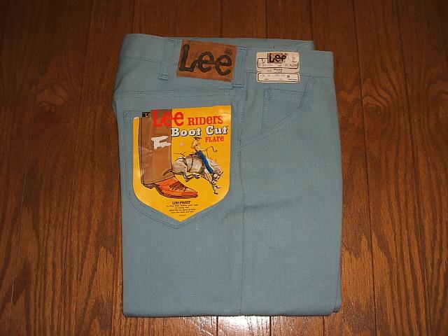 Lot Lee-PREST(リープレスト) 1970年代 MADE Lee(リー) 200-1045 ブーツカット IN デッドストック 実物ビンテージ USA(アメリカ製)