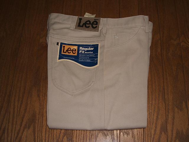 MADE Lee(リー) 1970年代 200-1016 USA(アメリカ製) 実物ビンテージ Lee-PREST(リープレスト) デッドストック IN Lot ブーツカット