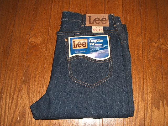 Lee(リー) 202-0341 ブーツカット 1970年代 MADE IN USA(アメリカ製) 実物ビンテージ デッドストック W32×L38