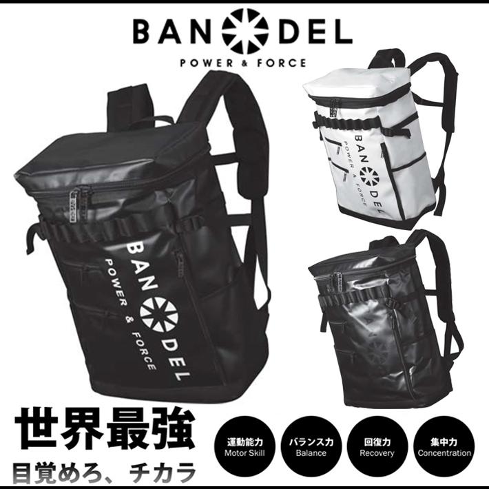 【着後レビューでBANDELグッズプレゼント!】BANDEL バンデル バックパック リュック ボックス型 耐水性