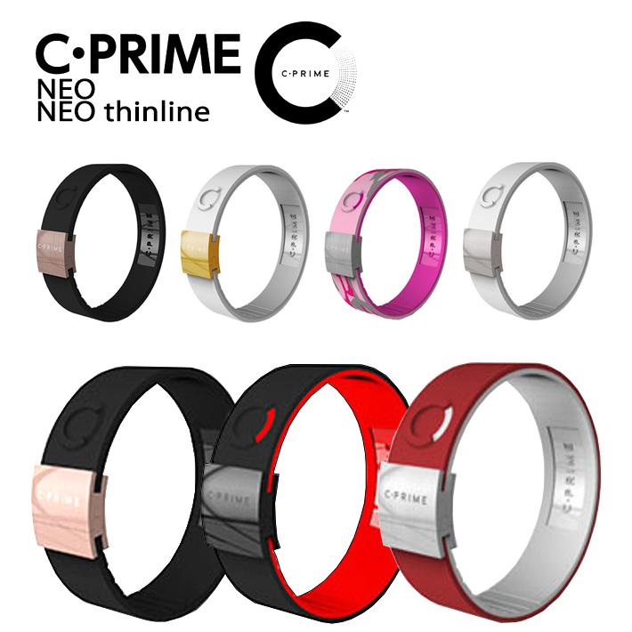 C-PRIME シープライム【正規品】【送料無料】CPRIME NEO NEO THINLINE BURN ブレスレットバランス カリフォルニア発 アクセサリーパワーバンド スポーツ オシャレ 運動 健康