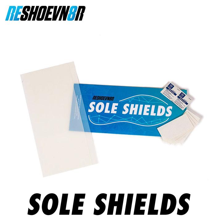 【マラソン中P5倍】RESHOEVN8R リシューブネイター SOLE SHIELDS ソールシールド滑り止め付き ソール 汚れ すり減り 保護 スニーカー SNEAKERS