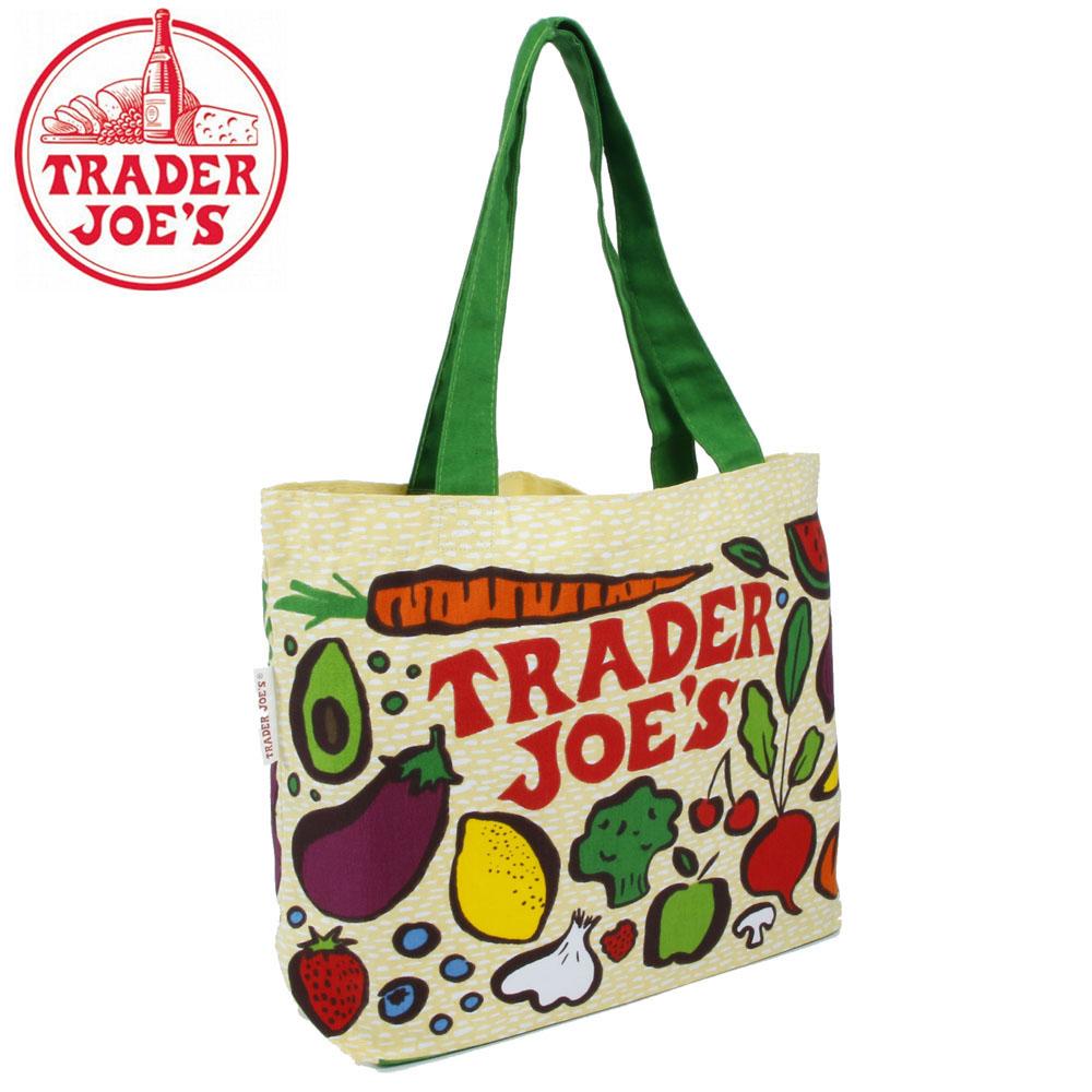TRADER JOE'S トレーダージョーズバッグ 高級スーパー スーパーマーケット オリジナル ママバッグ トートバッグ 海外セレブ 新生活 手提げ 母の日 トレーダージョーズ 引っ越し 送料無料(一部地域を除く) バッグ エコ トレジョ BAG