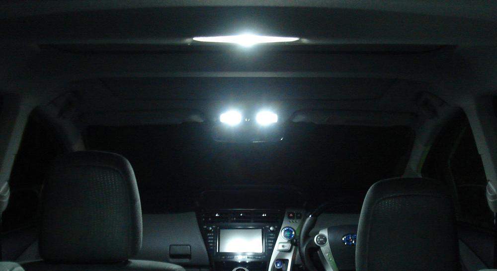 プリウス30後期モデル/プリウスαMC後 用 LEDキット【4200kモデル】