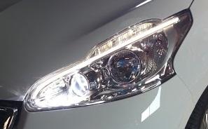 【送料無料】【プジョー208/2008専用LEDヘッドライト用】6500k専用部品付属