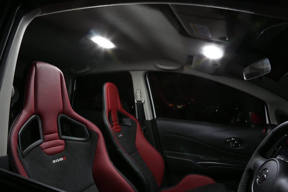 NISSAN NOTE E12 LEDルームランプキット バックライト付