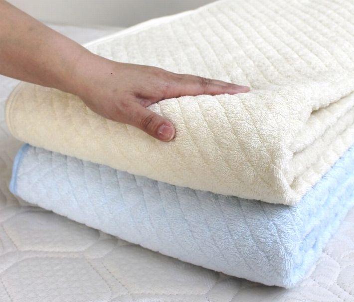 京都 Nishikawa 棉 100%汗水吸收毛巾布跪垫半双纸型