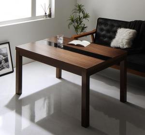 【最大P14倍★5/5 20:00~23:59】 こたつテーブル 3段階で高さが変えられる アーバンモダンデザイン高さ調整こたつテーブル 長方形(75×105cm)
