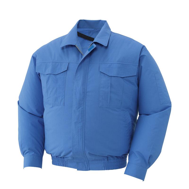 HO-1BLBLL 空調風神服ライトブルーLL | 空調風神服 作業着 夏 作業服 夏用 ジャンパー ジャケット 熱中症対策グッズ 熱中症 熱中症対策 グッズ 建設業 ファン付き作業着 空調服 ファン付き 暑さ対策