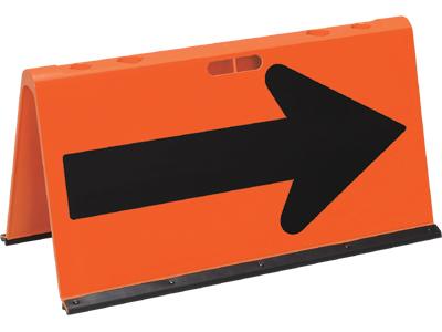 【8/17以降出荷】山型方向板 高輝度全面反射 (矢印板) | 安全用品 保安用品 反射 やじるし 矢印 誘導 反射板 誘導看板 矢印看板 方向指示 看板 安全 保安 安全グッズ 現場 保安グッズ 工事用品 建設