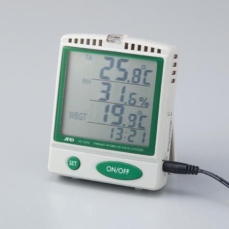 【8/17以降出荷】HO-69 熱中症指数モニター(SDデータロガー)